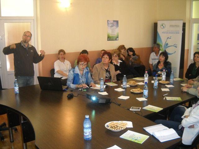 GHERCEȘTI județul DOLJ – Seminar local pentru formare de formatori, educație ecologică