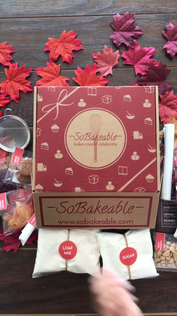 SoBakeable's November Unboxing Video