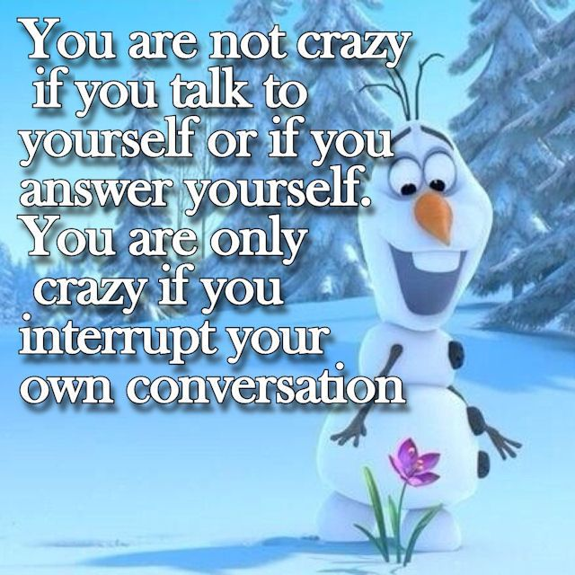 You're not crazy.......