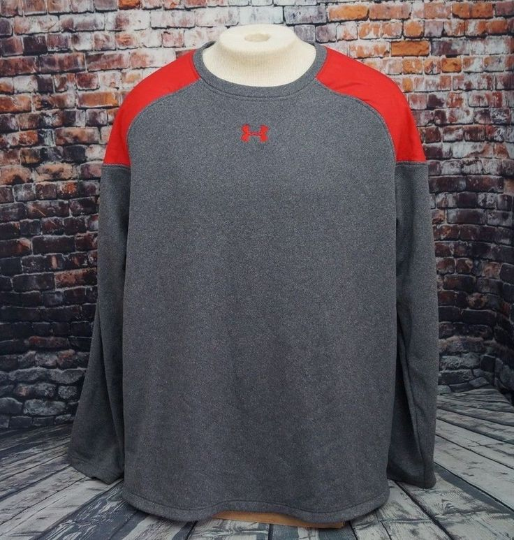Under Armour UA CTG Baseball Training Pullover Top Shirt