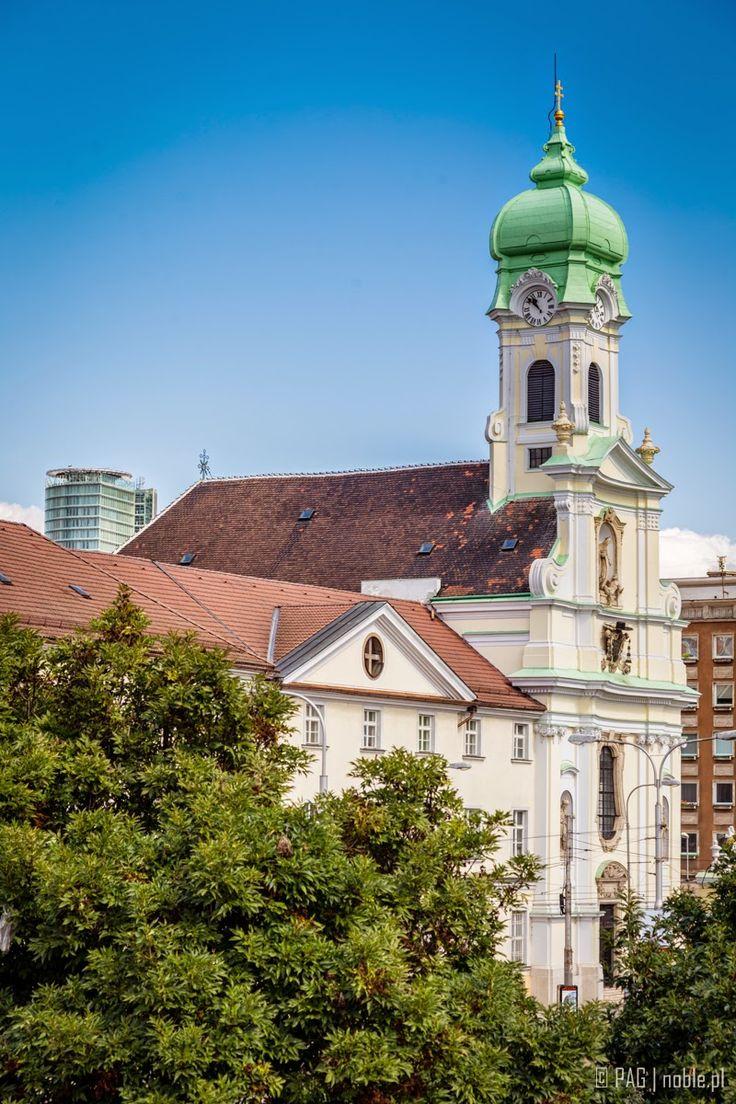 The Church and Monastery of st. Elisabeth in Bratislava, Slovakia