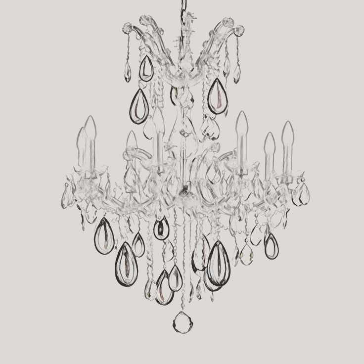 Żyrandol kryształowy Maria Teresa Weisberg