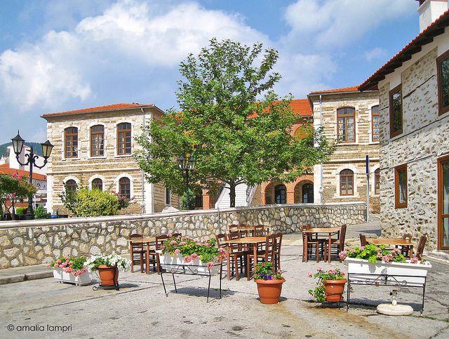 In Polygyros, Halkidiki