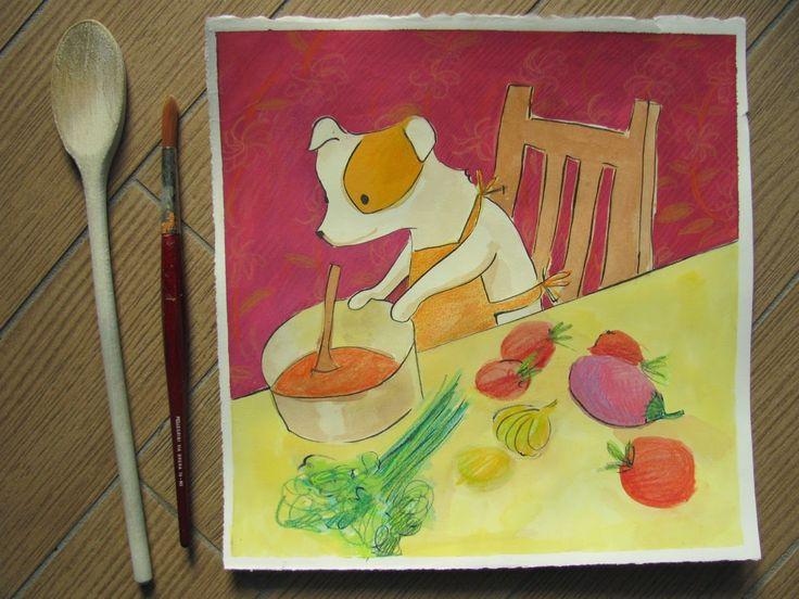 Le avventure di Vanda: Vanda mi aiuta in cucina