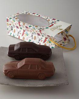 Charbonnel ET Walker Milk & Dark Chocolate Car Set  #lakelandchoccies