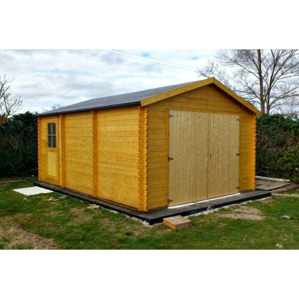 M s de 1000 ideas sobre puertas de garaje en pinterest - Garage de madera ...