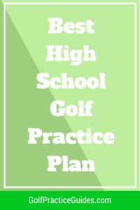 Check out this High school golf practice plan for coaches and players. Learn the key golf drills for improving your skills and shooting lower golf scores