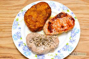How to cook boneless pork chops. The four methods: frying, baking, sautéing, and grilling.
