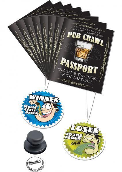 Pub Crawl Passport Drinking Game Product #: CNVEF-EPD8231-00 $5.69 · Adult  GamesPub ...