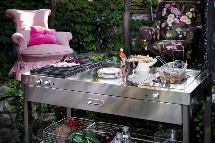 9 best Outdoor images by edelstahlmoebelde on Pinterest Deck - edelstahl outdoor küche