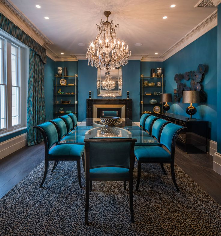 This glamorous house was designed by The Apprentice's Linda Plant  - housebeautiful.co.uk