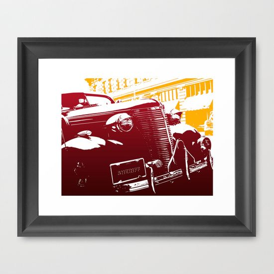 The Law Framed Print