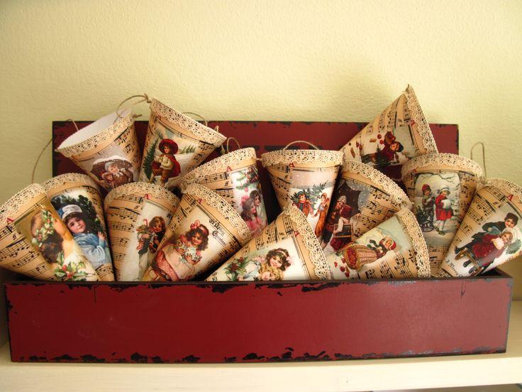 Christmas cornets