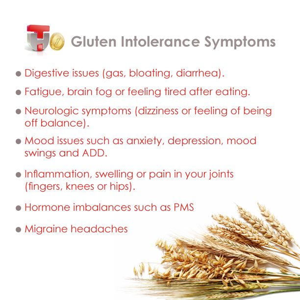 Gluten Intolerance- it's not just a fad for me. It's real ...