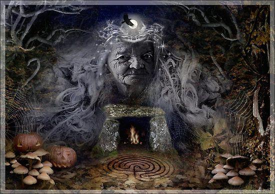 31 de octubre, Samahín. En esa mágica noche de rituales, la noche de Samhain, se abría la puerta al más alla y  los vivos y los muertos tenían la oportunidad de poder comunicarse.