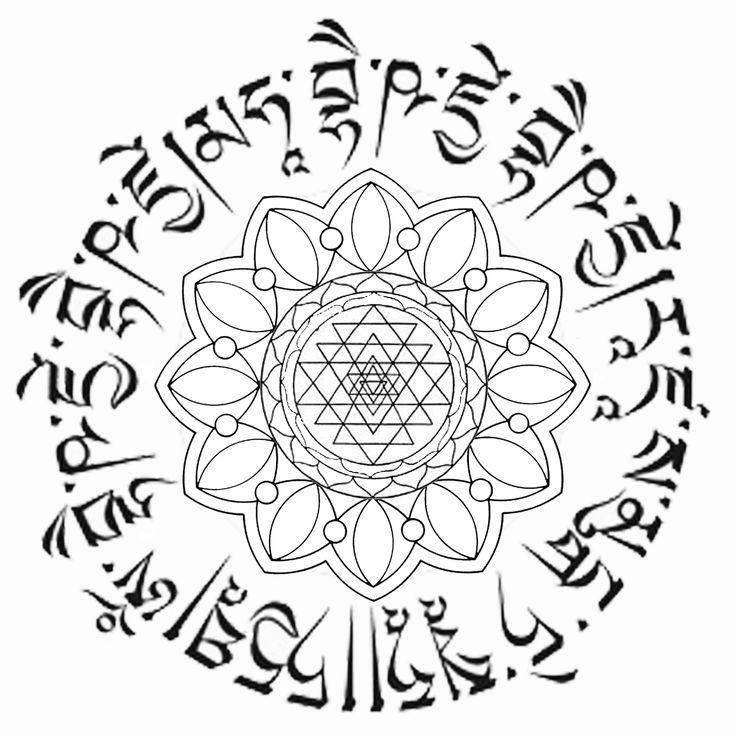 Tibetan Mandala Designs Buddhist Mandala Tattoo This Is