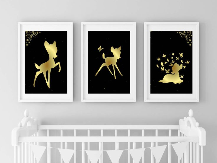 Excited to share the latest addition to my #etsy shop: Bambi Print | Bambi Nursery | Bambi Wall Art | Disney Nursery | Bambi Decor | Bambi Printable | Instant Download | Pink Gold Nursery http://etsy.me/2CxuMr8 #art #print #digital #birthday #bambi #bambiposter #bambin