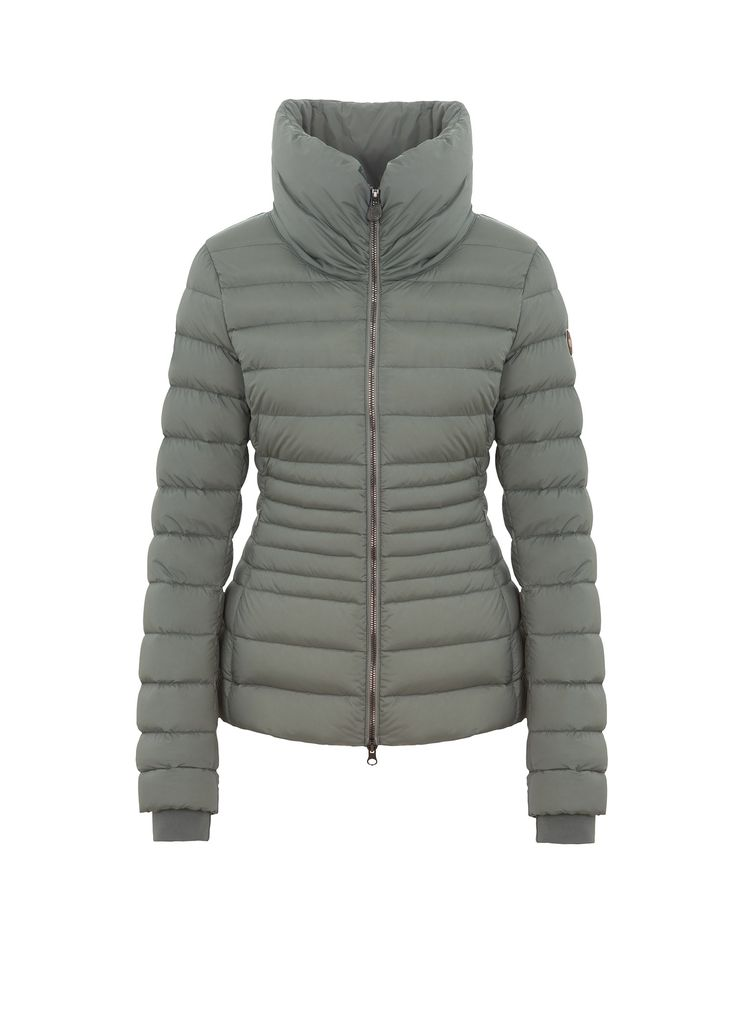 Colmar Originals women's down jacket in light, water-repellent fabric made with a unique luminous yarn, which creates a nice colour effect, and natural down feather padding - Colmar