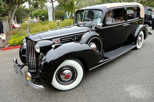 1939 Packard 1707 Twelve Formal Sedan.