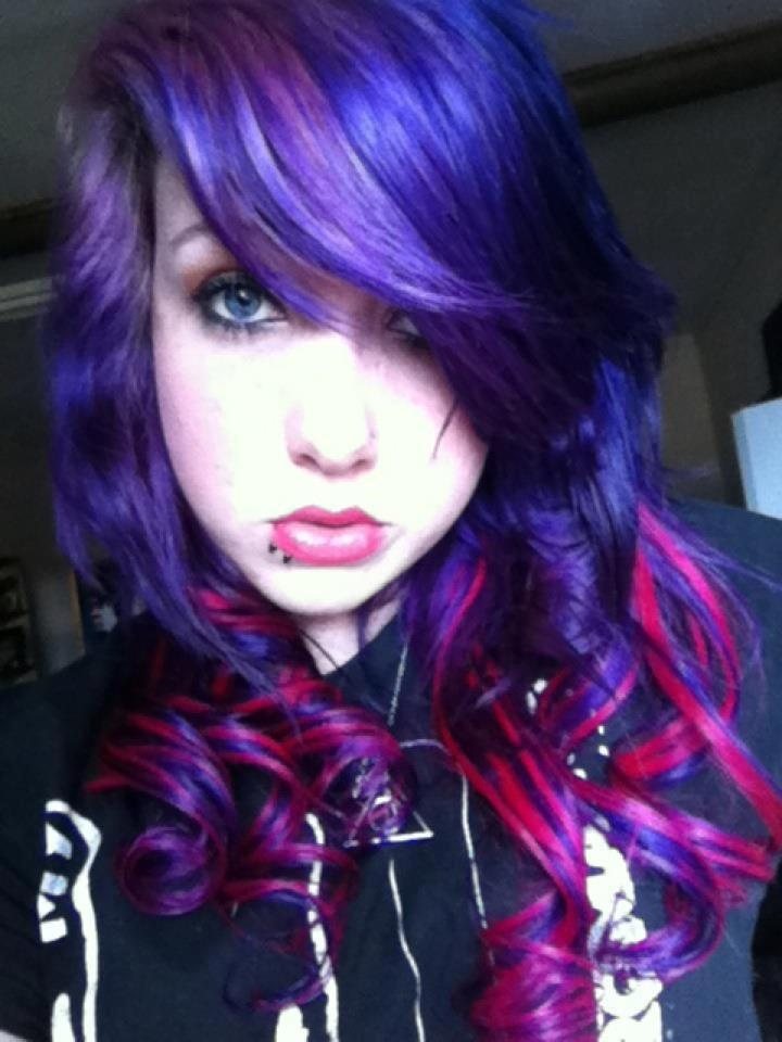 Hair Blue Highlights Hairs Picture Gallery