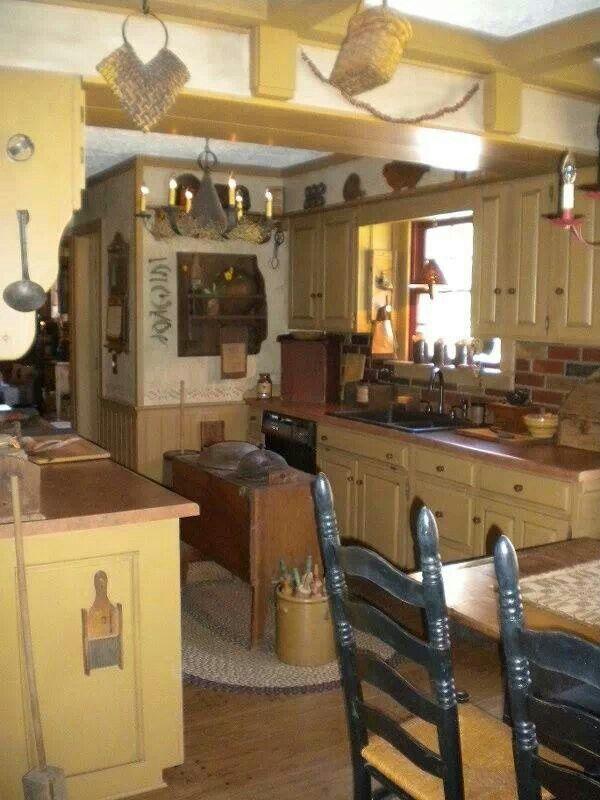 Primitive kitchen
