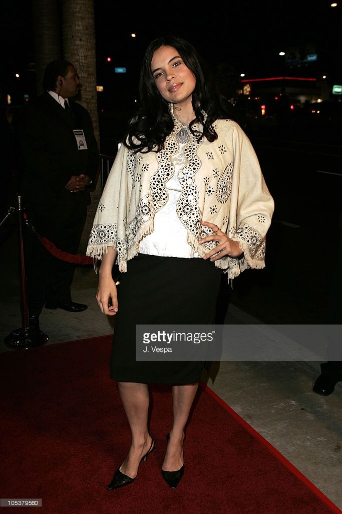 Zuleikha Robinson during 2004 AFI Film Festival - 'The Merchant of Venice' - Red Carpet at Cinerama Dome in Los Angeles, California, United States.