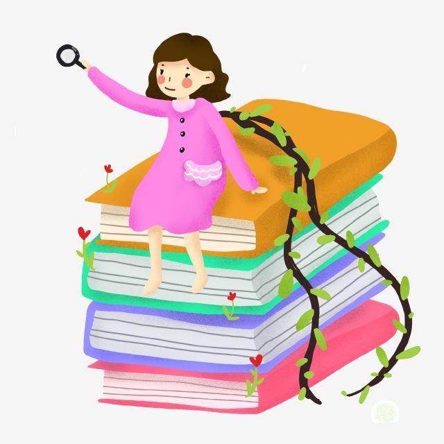 يوم الكتاب العالمي الطفلة الصغيرة والكتاب القراءة اليوم العالمي للقراءة يوم القراءة Png وملف Psd للتحميل مجانا Little Girls Disney Characters Character
