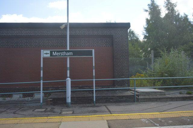 Merstham Railway Station (MHM) in Merstham, Surrey