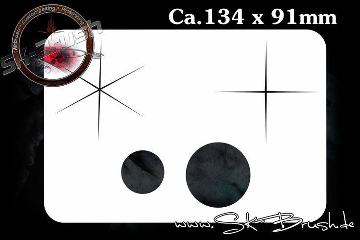 Sparkles Airbrush Schablone Stencil | FX Series | Profiline | Schablonen | SK-Brush - Fachgeschäft und Custompaint Studio für Airbrush & Pinstriping