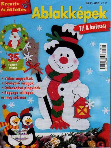 Kreatív és ötletes - Ablakképek - Tél és Karácsony - Muscaria Amanita - Picasa Webalbumok