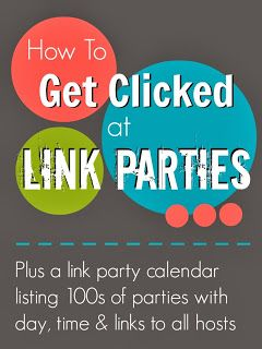 Mums make lists ...: How to Get Clicked at Link Parties #blogtips #blogger #blog