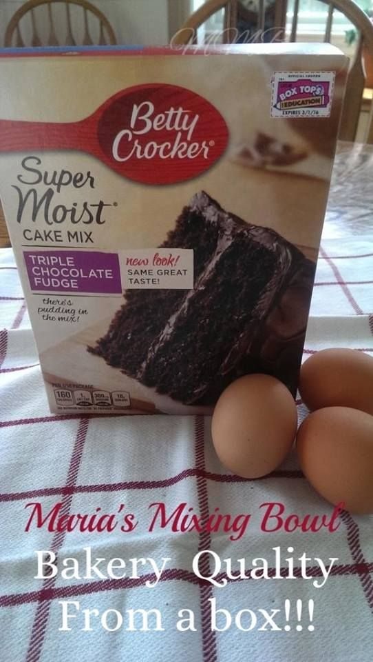 Bakery Quality Cake From a Box!!! Try these tricks easy to make box cakes taste like they came from a bakery Check out the directions on the cake mix. Add one more egg (or add 2 if you want it to b…
