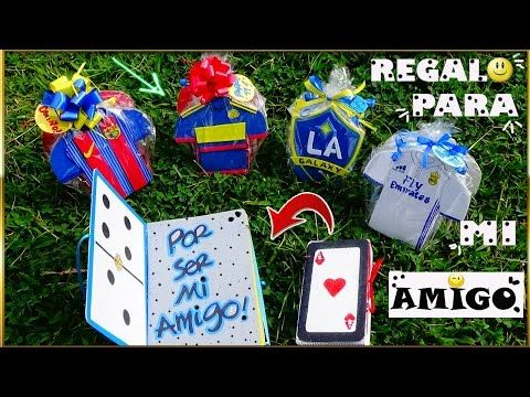 Regalo para mi Amigo - Gift - for - my friend - Creaciones Betina - YouTube