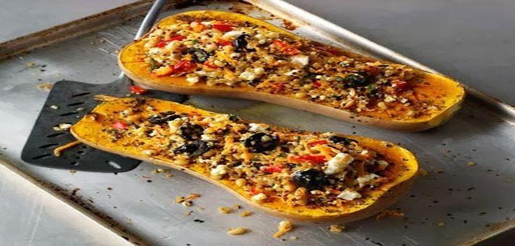 Γεμιστή κολοκύθα με Quinoa   athensgo