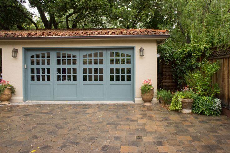 Mediterranean Garage And Shed By Hoi Ning Wong Doors
