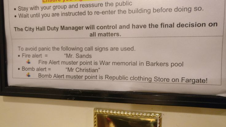 Odd fire safety notice in a theatre    ifttt 2mmmB9w - resume writing group