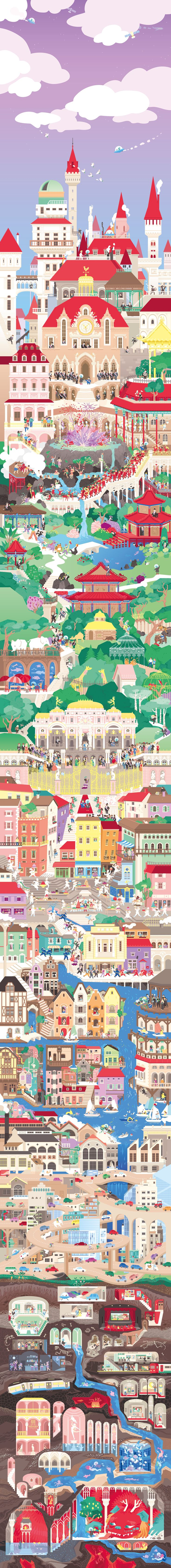 The Megalopolis Children Book by Cléa Dieudonné - http://www.designideas.pics/the-megalopolis-children-book-by-clea-dieudonne/