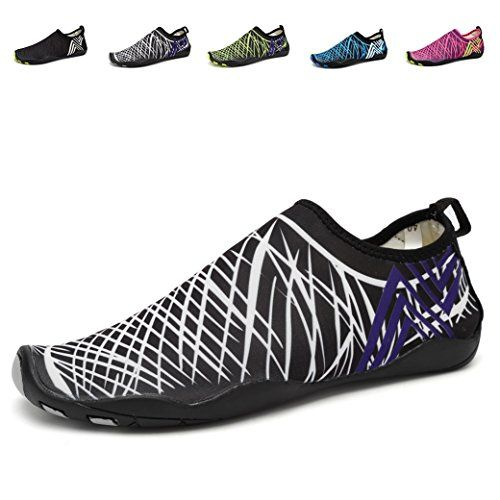 EQUICK Water Shoes Barefoot quick dry Aqua Sports Sneakers Slip on for Men Women KidsCCY01BWhite43 ** Be sure to check out this awesome product.Note:It is affiliate link to Amazon.