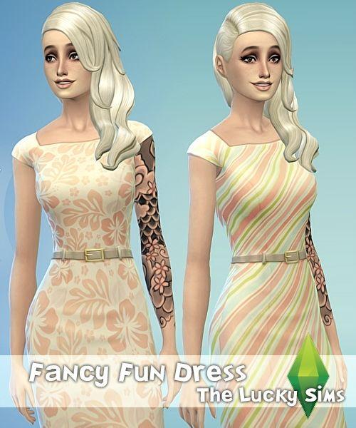 Женская одежда: повседневная и официальная - Страница 2 - Форум - The Sims Models