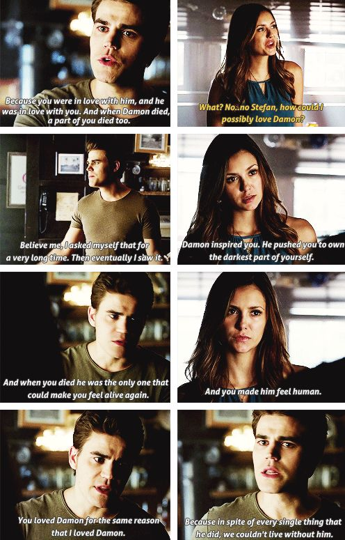 This makes me so sad because I hate the ship Delena