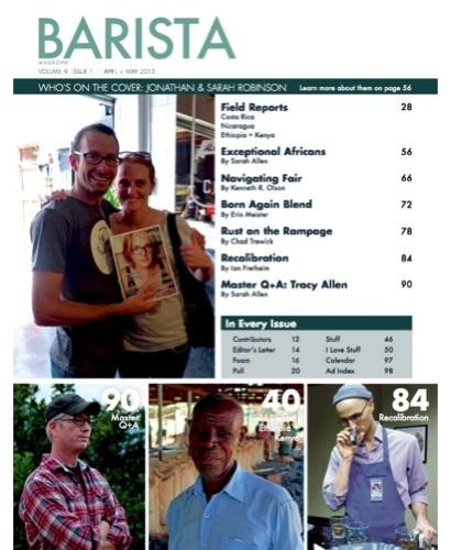 Barista Magazine Home Page