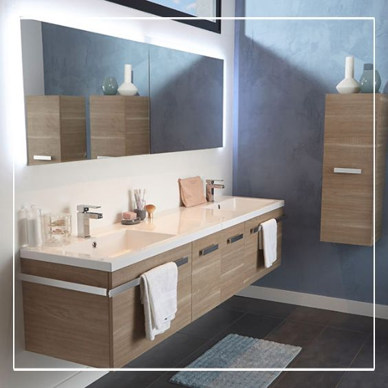 57 best images about salles de bains on pinterest - Meubles salle d eau ...