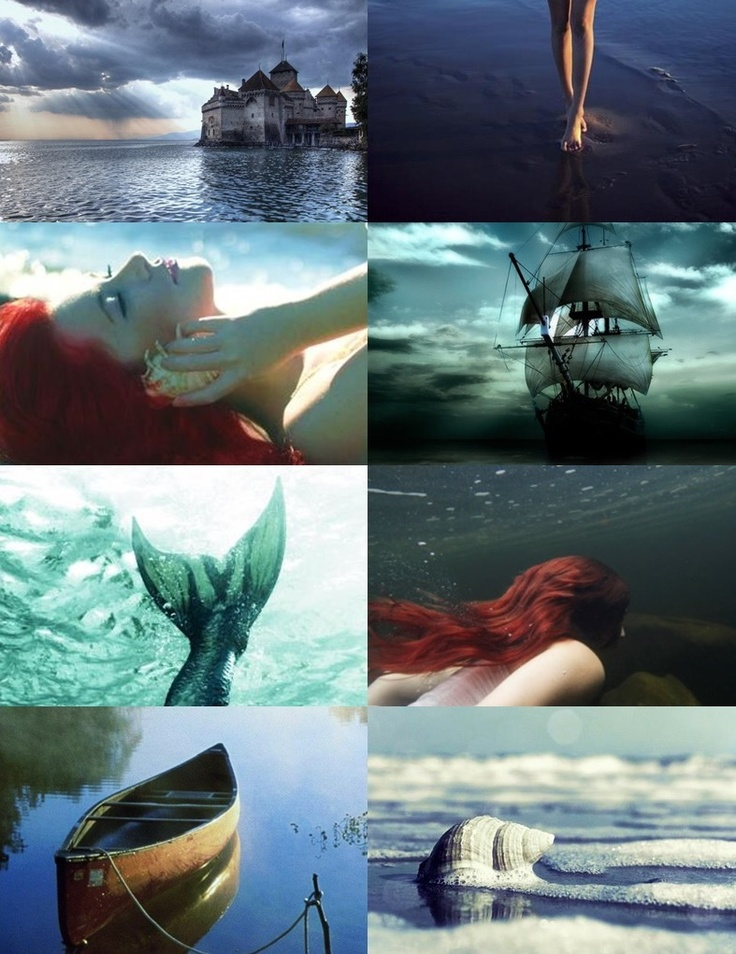 The Little Mermaid by #mirandacazier