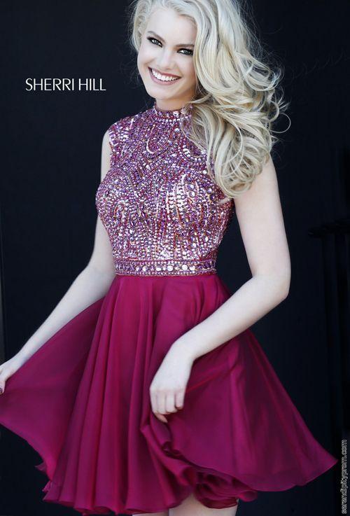 396 besten Sherri Hill Cocktail Dresses Bilder auf Pinterest | Große ...
