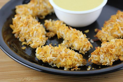 Coconut Chicken Tenders Recipe | Free Online Recipes | Free Recipes