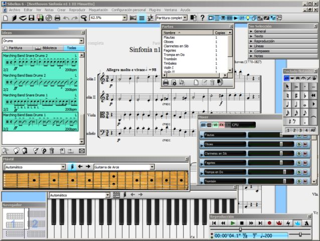 Sibelius 6 download latest version software, compatible with the latest window operating system, which has been developed for the leading score writing program for music.