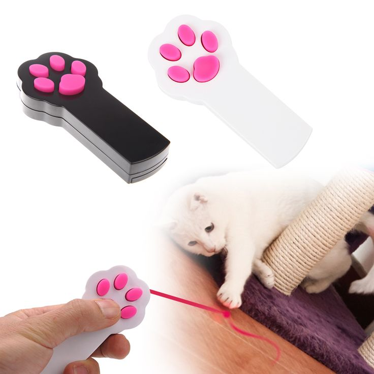 Funny Pet Cat Dog Play Toys Interactive Sport Automatic Red Laser Pointer Exercise Toy Cat Paw Pads Style Scratching Training