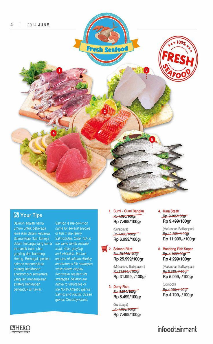 Ingin mendapatkan seafood segar dengan harga yg ekonomis? Ayo Fresh People belanja di Hero Supermarket sekarang juga