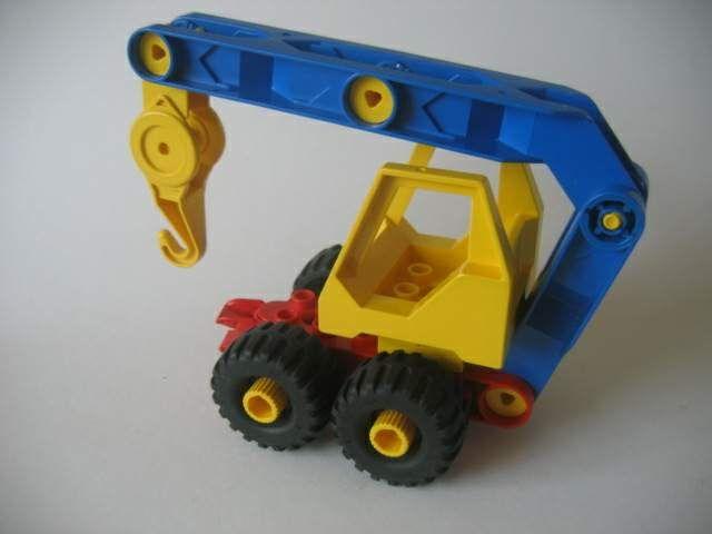 takelwagentje van lego toolo - soort technisch duplo