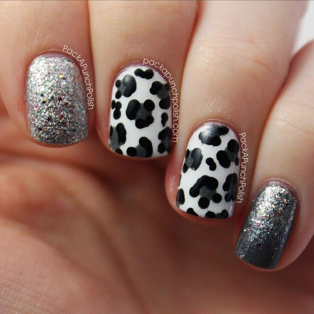 Diy Snow Leopard Nail Art: 525 Best Images About Nails* Animal Prints On Pinterest